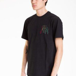 JW Anderson Logo Embroidery T Shirt Black